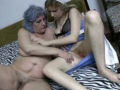These dirty-minded lesbians make each other cum pretty quickly caressing each other's pussies orally. Press play and enjoy the action!