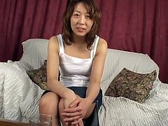 Porner Premium brings you an amazing free porn video where you can see how a sensual Asian brunette plays with her cunt while assuming some very hot poses.