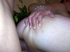 Hardcore anal fuck video in POV is presented to you by Mofor Network. Brunette chick with perky tits bends over the table getting drilled deep in her ass. She rubs her pussy while getting hammered rough.