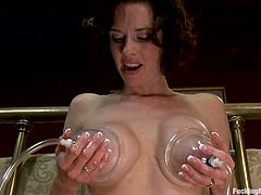Hit play and enjoy seeing Veronica Avluv getting fucked by machine and then riding a sybian that takes her to orgasm.