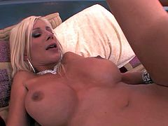 Busty Puma Swede takes love torpedo in her milf hole