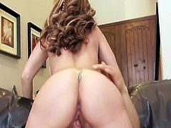 Watch this sexy blonde milf Serena Marcus in this hot hardcore video, where she sucks that fay big cock before riding it hard and getting cummed on her big tits.
