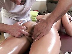 Remy LaCroix is in the mood for ass fucking and gives it to hot guy Toni Ribas