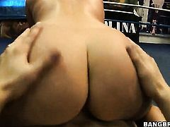 Austin Kincaid with juicy butt getting interracially hardcored by hard dicked bang buddy