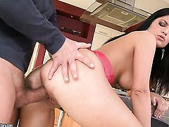 Teen Lexy Little cant live a day without getting her mouth banged by hot guy