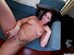 This is the first time for Edyn Blair taking monster black cock. She does her job well though. Stunning brunette babe pumps meat pole deepthroat. She then gets hammered deep in her cunt missionary style. Arousing Bang Bros Network porn video.