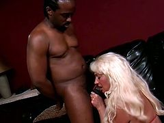 Slutty Mature Dana Hayes Finally Gets Interracial Hardcore Sex