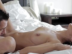 Staggering Breanne Benson undulates her perfect body in one nasty hardcore fuck session