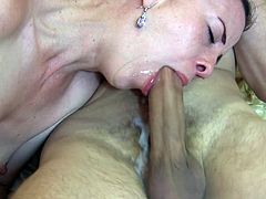 Amateur cum playing whore