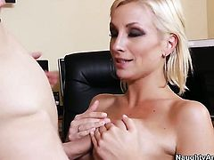 Lexi Swallow with gigantic boobs spends time getting it on with hot guy Danny Wylde