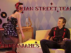 Veruca James, Mariah Mars, Wolf Hudson, London Keys, Mary Jane and Anthony Rosano all appear in a hot compilation of steamy sex scenes in the Rockabilly style.