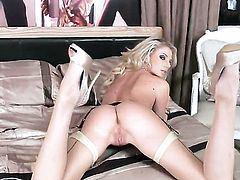 Danielle Maye is full of passion to fuck herself with toy