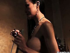 Ange Venus shows her love for interracial muff fucking in steamy sexaction with hot guy