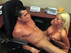 Nikita Von James rides on Billy Blide