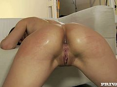 Brazen hussy love BBC and anal sex. So she combines these two while filming in hardcore Private porn scene. She takes big fat cock in her butt hole so her pucker is stretched wide as fuck.