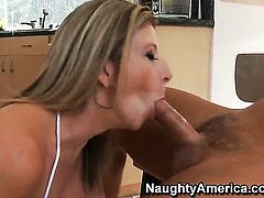 Rocco Reed uses his stiff meat stick to bring Sara Jay to the height of pleasure
