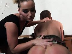 Blonde and Kathia Nobili are ready to lick each others love tunnel day and night