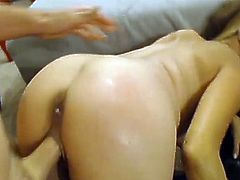 Huge fat yonker Made that Big-Titted girl Squirt