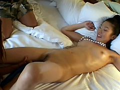 These kinky little Asian sluts recorded themselves fucking! Look at them, so happy and slutty, eager to fuck each other like cheap whores. The girls had one hell of a time and used that strapon dildo like pros. Check out some more here at Asian Girl Girl.