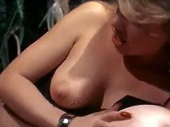Three voluptuous retro lesbians are eager for each others lady juice. They dive in each others slits one after another and munch labia with a great pleasure.