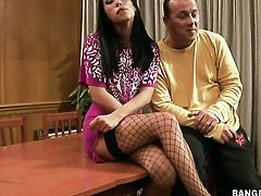 Mya Diamond is in heaven sucking guys sturdy love torpedo