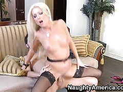 Diana Doll gets the pleasure from fucking with Kris Slater like never before