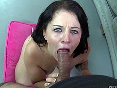 Blowjob scenes are so rocking. This is the best thing in sex that men like and Madelyn Monroe pushes Johnny Fender and sucks him!