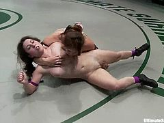 Bella Rossi and Serena Blair are in the finals of the lightweight category! Chicks are going to fuck each other so bad!