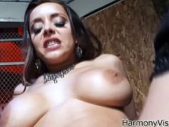 Sizzling and stunning sex doll Liza Del Sierra is here to make this dude feel like he is the last man on earth! The way she blows and gets fucked in ass is amazing.