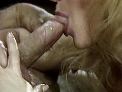 Sextractive classic slut gives blowjob to one inspector. She licks his hairy balls and tickles his penis head with her playful tongue.It's a time to enjoy watching The Classic porn video for free.