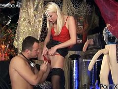 Get a load of this hardcore scene where the sexy Lena Cova is fucked silly by this guy's big cock as you hear her moan.
