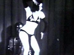 Lusty woman likes to dominate and play nasty in alluring vintage femdom porn