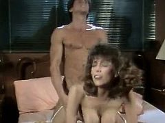 This jaw-dropping bombshell knows how to share and now it her friend's turn to fuck. Sex-starved slut spreads her sexy legs wide indicating how bad she wants this dude to fuck her. Horny stud pounds her mercilessly in and out pushing her to the edge of powerful orgasm.