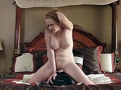 If you love cougars with giant fake tits and soft plump lips that could wrap around a cock with ease, then feast your eyes on the 35 year old Indica Greenly. Her naughty desires and eagerness to please her pussy will have you yearning to see her cum!