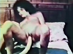 Curly haired dark colored small tits rapacious chick gets her hot tempered twat turbulently drilled with incredibly huge fake schlong by her blond head crazy whorish lesbian babe. Watch these crazy lesbian masturbation in The Classic Porn sex clip!