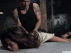 Steven St. Croix is going to torture and fuck another sexy babe named Daisy Marie. Oh, man this honey is so full of perversion and passion!