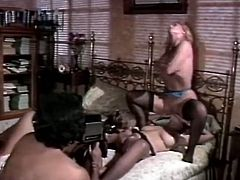 Dirty-minded whores get fucked hard in hot group sex video