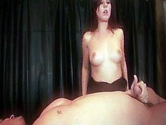Penny Flame gives a guy his last hand job