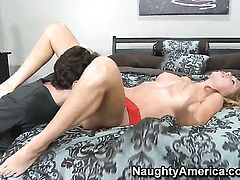 Brynn Tyler gets turned on then used by James Deen