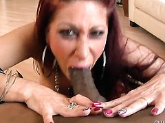 Tiffany Minx is ready to suck guys rock solid sausage day and night