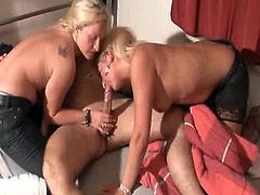 Needy mom loves sharing this senior cock with her lusty daughter