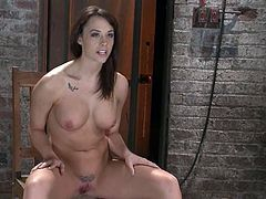This juicy and sizzling hottie Chanel Preston is going to be tortured so fucking hard! She is a damn sex slave born for BDSM!