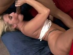 Courtesy of Next Door Mommies you can see a vicious blonde milf as she enjoys a hard black cock in this awesome free porn video. This babe is ready for something VERY perverse.