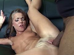 Claudia Atkins is a Russian milf. She's literally desperate for cock. Luckily, Shane Diesel came and broke her cunt with his monster black cock. That's the only way she can get satisfaction.