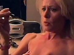 Lengthy haired Beverly Lynne is going backside the stage as she's seducing the stripper and is licking her pussy, till it is her turn and an unfortuNate Event happens nice after she has a Massive orgasm