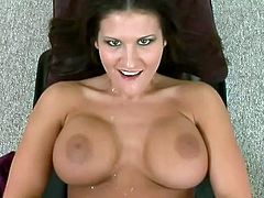 Check out the big fake tits on this hardcore slut who loves to get some big cock. She will get fucked in every hole and every position.
