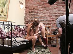 Silvia Saint is on the edge of nirvana after sensual sex with lesbian Cindy Dollar