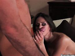 Rachel Roxxx with gigantic melons gets her beaver fucked by hot man for your viewing entertainment