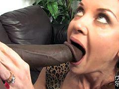 Two Black Guys Fuck A Wife With Her Cuckold In Front