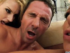 David Perry bangs Sex starved doll Brianna Beach as hard as possible in anal sex action